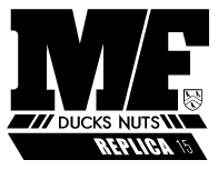 MF DUCKS NUTS REPLICA 2015 DHD サーフボード